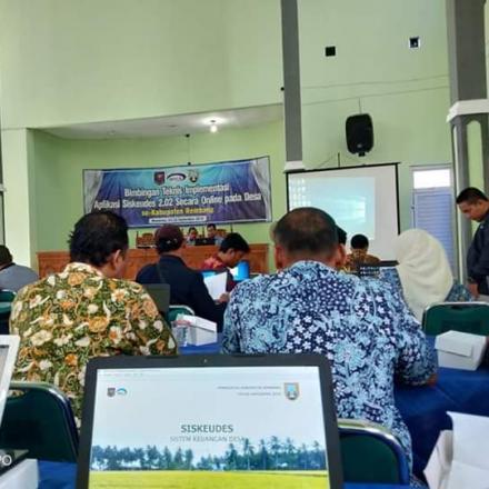 Siskeudes Online Wujud Transparansi Keuangan Desa