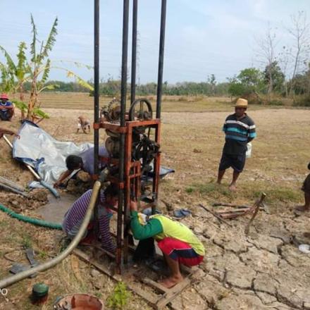 Pantang Menyerah Untuk Mencari Sumber Mata Air di Sriombo